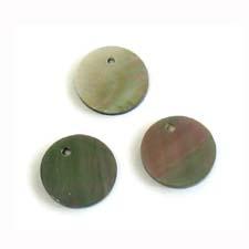 Blacklip 10mm round wholesale pendant