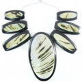 Green shell spotted 7-pc Cleopatra wholesale