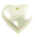 Pendant heart 35mm Chamber Nautilus