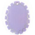 Greenshell oval purple
