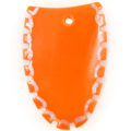 Green shell tangerine top cut wholesale pendant