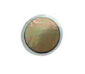 Brownlip Round inlaid inside metal frame 19mm