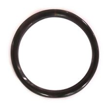 "Black horn ""O"" ring 55mm dia x 4mm thick wholesale"