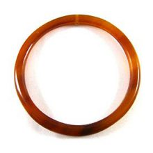 "Golden horn ""O"" ring 55mm dia x 4mm thick wholesale pendants"