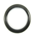 """Black horn """"O"""" ring 34mm dia x4mm thick wholesale ring"""