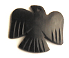 Black horn eagle design wholesale pendants