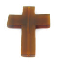 Golden horn cross wholesale pendants