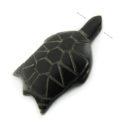 Black horn turtle wholesale pendants