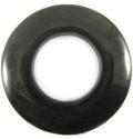 Black horn donut 60mm wholesale pendants
