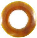 Golden horn donut 60mm wholesale pendants