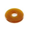 Golden donut horn pendant 30mm