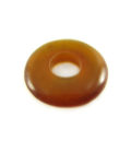 Golden horn donut 20mm wholesale pendants