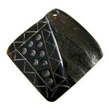 black horn square pendant wholesale pendants