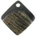 Black horn diamond rough wholesale pendants