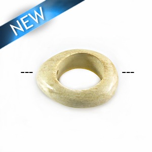 unbleached white-wood irregular Round