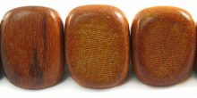 Wholesale Redwood triangle nuggets beads