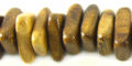 Wholesale Robles wood triangle cut beads