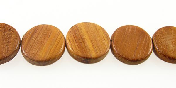 Bayong wood flat round 15mm