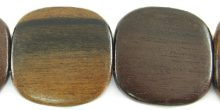 Tiger ebony flat square 25mm