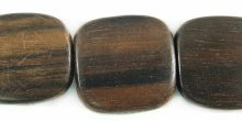 Tiger ebony flat square 16mm