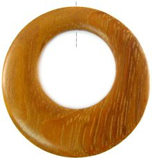 Bayong wood off center donut 45mm