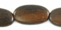 tiger ebony rounded flat oval wholesale beads