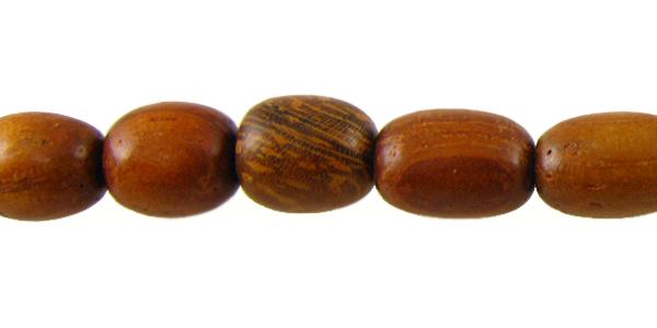 Bayong wood ovals 4-5mm