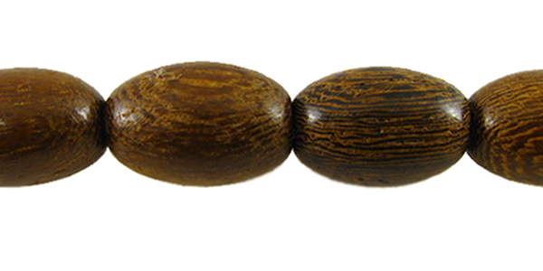 Robles wood oval 15mm