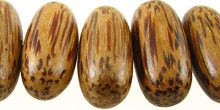 Palm-wood Football wholesale beads