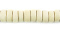 Whitewood pukalet 8x4mm bead