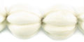 Whitewood squash design 20mm bead