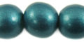 Whitewood 20mm painted metallic turquoise