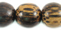 Old palmwood 20mm bead