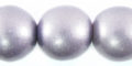 20mm metallic purple bead