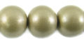 15mm wooden metallic nude bead