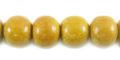 Nangka wood round 10mm beads