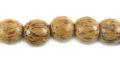Palmwood round wood wholesale beads