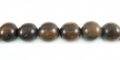Tiger ebony wood round 6mm