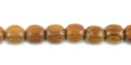 Bayong wood round 6mm beads