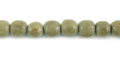 Graywood round wood beads 4-5mm