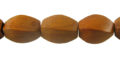Wholesale Bayong twisted wood beads 10mm x 15mm