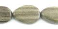 Graywood teardrop beads flat 12mm