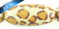 white-wood hand-painted leopard print 32mm