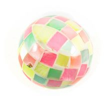 Hamershell round blocking beads multi color wholesale