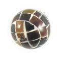 Tab shell round blocking beads 20mm