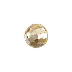 Brownlip round blocking beads 10mm wholesale