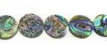Paua Coin Shell Beads wholesale beads