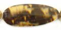 Golden olive oval large