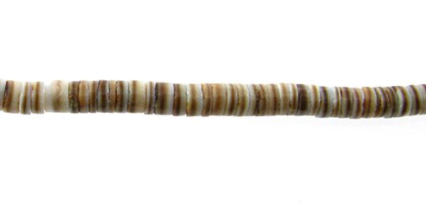 Voluta shell heishi 2-3mm