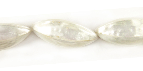 Silver mouth garlic shape small